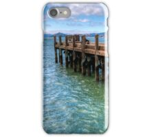 The Old Alcatraz Dock that laid upon the Blue Waters iPhone Case/Skin