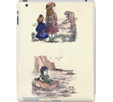 The Little Folks Painting book by George Weatherly and Kate Greenaway 0165 iPad Case/Skin