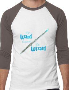 The Flute Chooses the Wizard Men's Baseball ¾ T-Shirt