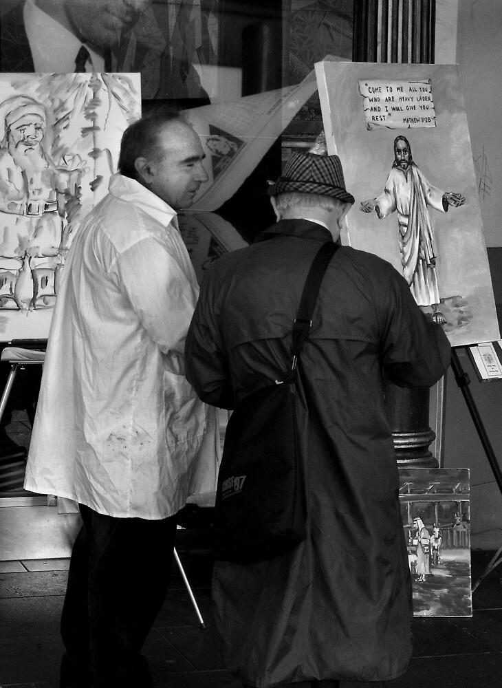 Street Painter by Andrew  Makowiecki
