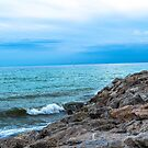 On the Rocks at Costa del Sol by Sherri Fink