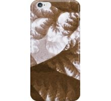 Growth 1 Brown iPhone Case/Skin