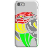Reggae Music Cool Lion Reggae Colors T Shirts and Stickers iPhone Case/Skin