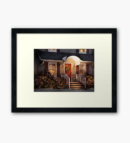 Christmas - Noel - orig Framed Print
