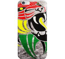 Grunge Reggae Music Lion iPhone Case/Skin