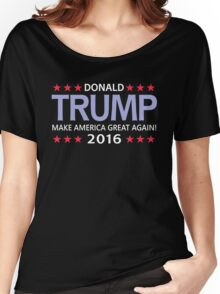 Donald Trump for president 2016  Women's Relaxed Fit T-Shirt