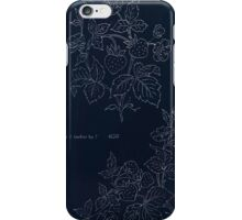 Briggs & Company Patent Transferring Papers Kate Greenaway 1886 0123 Inverted iPhone Case/Skin