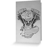 S&S Shovelhead Engine Greeting Card