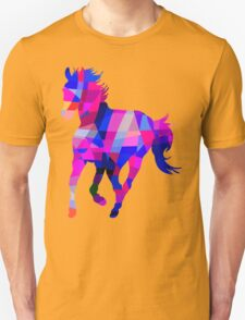 Cool Horse Vector Colors And Shapes T-Shirt Prints and Stickers T-Shirt