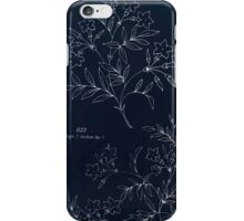 Briggs & Company Patent Transferring Papers Kate Greenaway 1886 0115 Inverted iPhone Case/Skin