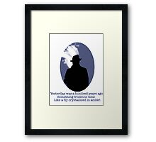 Film Noir Detective Stories Framed Print