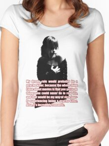 Christina Ricci Women's Fitted Scoop T-Shirt