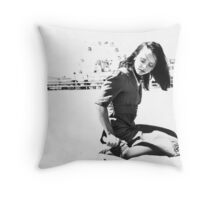 Christina Ricci Throw Pillow