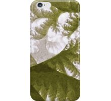 Growth 1 Olive iPhone Case/Skin