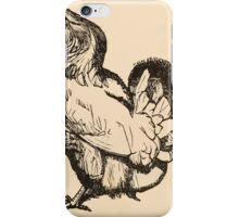 Five Mice in a Mouse Trap Laura Elisabeth Howe Richards and Kate Greenaway 1881 0075 The Rooster's Feathers iPhone Case/Skin