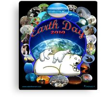 Earth Day 2010 Canvas Print