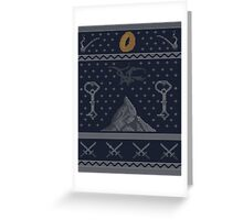To The Mountain!  Greeting Card