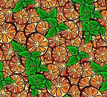 OrangePattern by Chesnochok