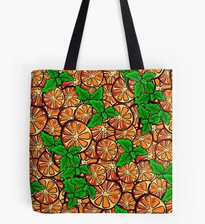 OrangePattern Tote Bag