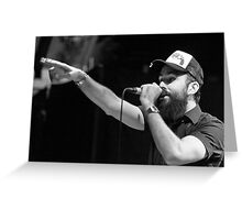 Dan Le Sac Vs Scroobius Pip Greeting Card