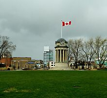 Kitchener Clock Tower - Overcast by Stefan Chirila