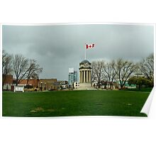 Kitchener Clock Tower - Overcast Poster