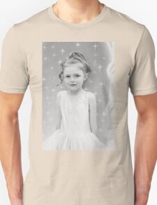 Birthday Girl ~ Portrait In Black And White Unisex T-Shirt