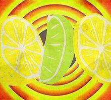 Pop Art Lemon Lime by Denis Marsili - DDTK