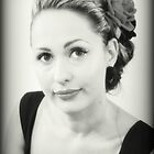 Jennifer - Portrait In Black and White by Evita