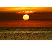 Antigua Sunset Photographic Print
