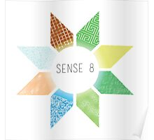 Sense8 Star Logo Yellow Poster