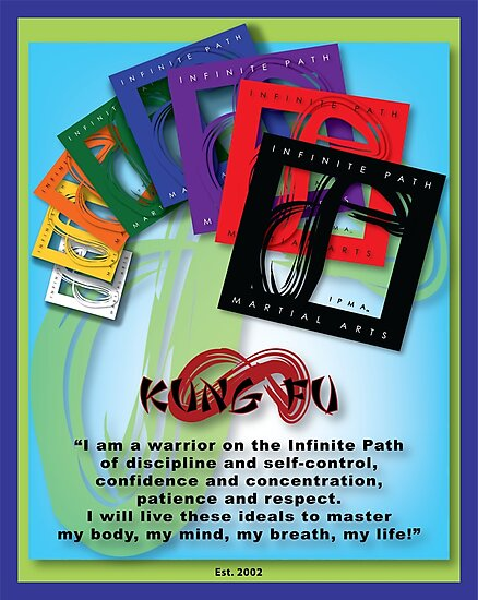 Infinite Path Martial Arts - Youth Creed by Infinite Path  Creations