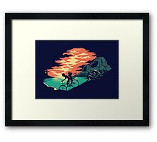 Love Adventure Framed Print