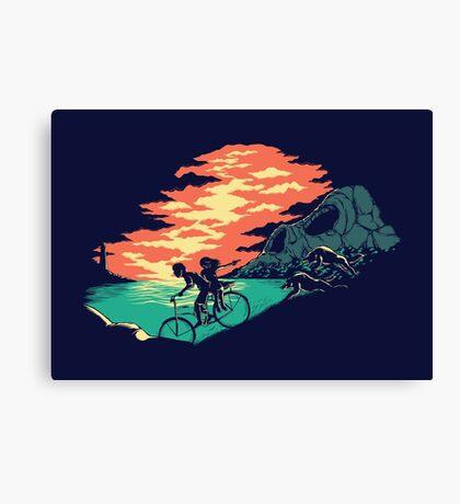 Love Adventure Canvas Print