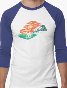Love Adventure Men's Baseball ¾ T-Shirt