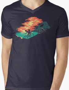 Love Adventure Mens V-Neck T-Shirt