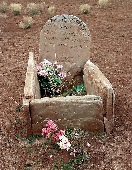 Baby Cradle Gravestones by Dana Roper
