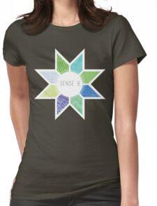 Sense8 Star Logo Green Womens Fitted T-Shirt