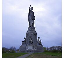 National Monument to our Forefathers.. located in Plymouth, Massachusetts, USA Photographic Print