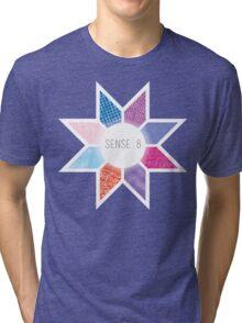 Sense8 Star Logo Blue Tri-blend T-Shirt
