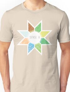 Sense8 Star Logo Yellow Unisex T-Shirt