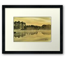 Strickland Lake Framed Print
