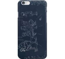 Briggs & Company Patent Transferring Papers Kate Greenaway 1886 0236 Inverted iPhone Case/Skin