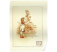 Old Proverbs with New Pictures Lizzie Laweson and Clara Mateaux 1881 0045 It is a Poor Heart That Never Rejoices Poster