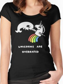 Unicorns Are Overrated Women's Fitted Scoop T-Shirt