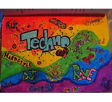 Techno  Photographic Print