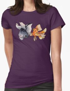 Goldfishes Womens Fitted T-Shirt