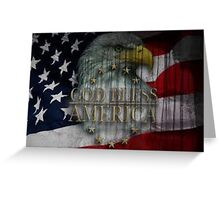The United States of America Greeting Card