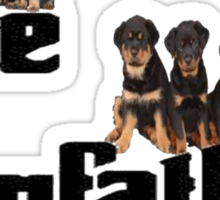 The Dog Father Sticker