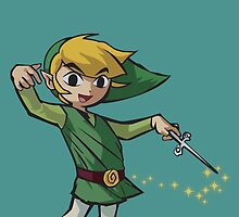 Toon Link by Amw2491